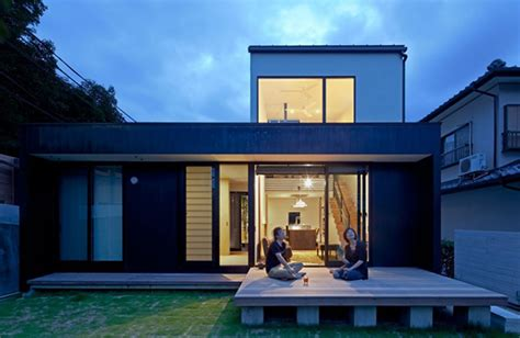 Home Design For Young Couple by Compact Wooden Home With Japanese Details For Young
