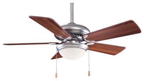 minka aire f563 sp bs dw supra brushed steel 44 quot ceiling