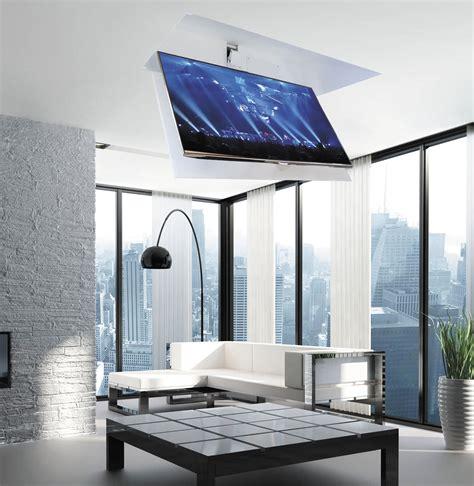 Supporto Tv Da Soffitto by Supporto Per Tv Da Soffitto Moderno Telecomandato