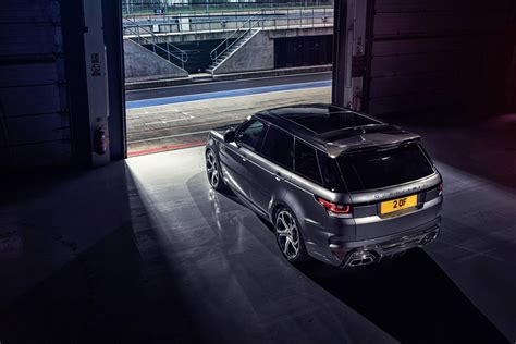 range rover sport modified overfinch range rover sport modified autos world blog