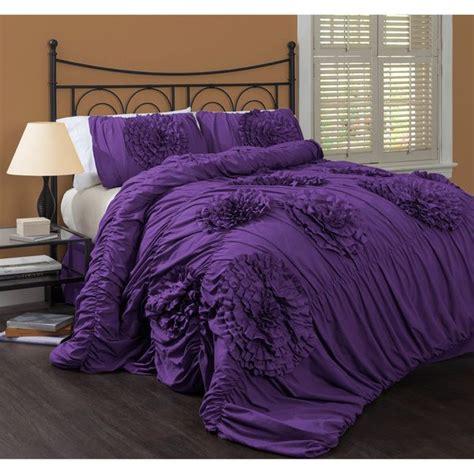 lush decor serena 3 piece comforter set by lush decor