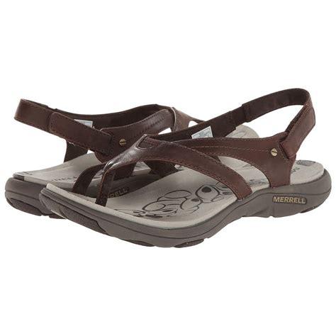 womens sandals merrell women s grace leather flip sandals wwathleticshoess
