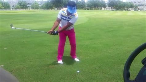 d by swing swing de golf perfecto en camara lenta