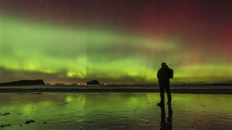 lights northern beaches northern lights show possible for uk in coming days liam
