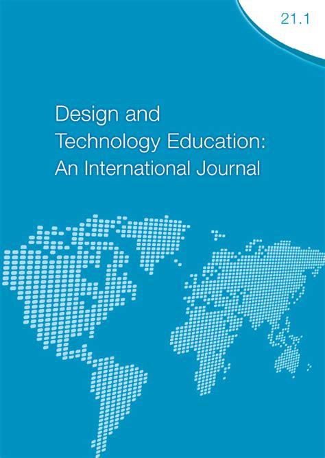 Design Technology Education Journal | archives design and technology education an