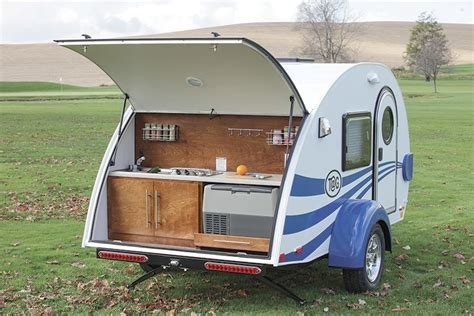teardrop trailers with bathroom teardrop trailer with bathroom little guy 1 home design