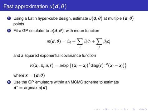 bayesian experimental design bayesian experimental design for stochastic kinetic models