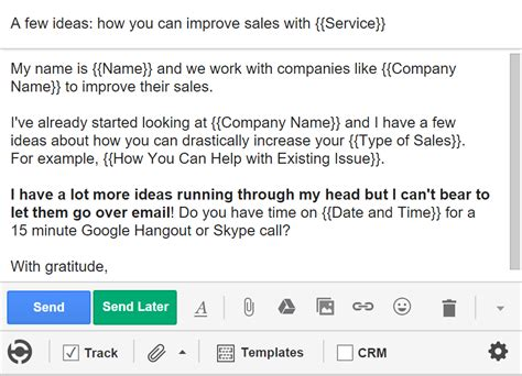 5 Cold Email Templates That Actually Get Responses Bananatag The Best Cold Email Template