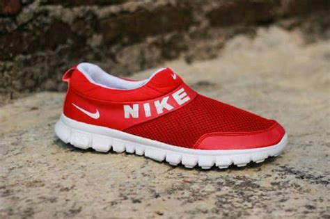 Sepatu Nike Tanpa Tali jual sepatu sport wanita nike free slip on tanpa tali distributor sepatu bdg