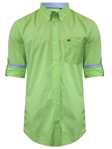 Shirt Green Light arrow light green casual shirt asts1506 cilory