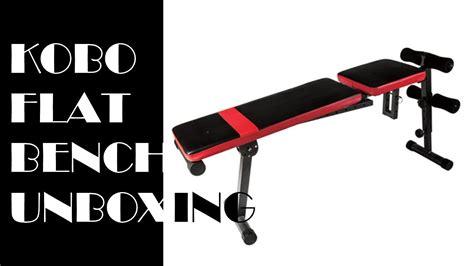 kobo adjustable flat exercise bench amazoncom powerline pfid125x flat incline decline