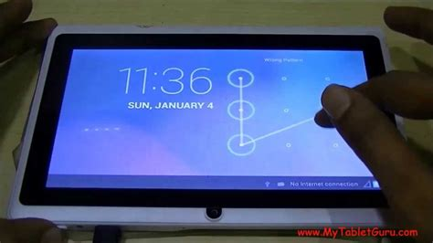 reset pattern lock android tablet unlock pattern lock on android tablet on single click of