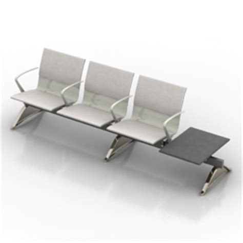waiting area chairs 3d model 3d model seat category quot matteograssi seats for waiting
