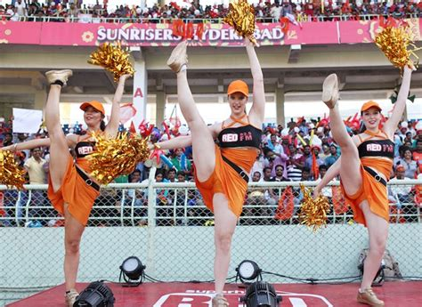 ipl cheerleader wardrobe mal protests at wankhede over foreign cheerleaders in the ipl