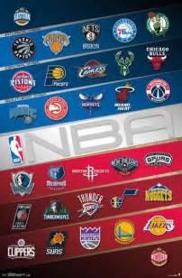 Nba Wall Murals nba team logos 2016 poster at allposters com