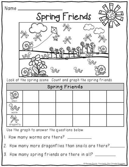 kindergarten activities march printables march print and do no prep math and literacy