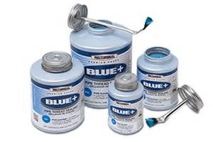 rectorseal 174 blue is a blue non setting thread sealant