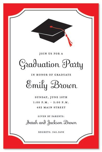 templates for graduation open house invitations graduation open house invitation templates mes specialist