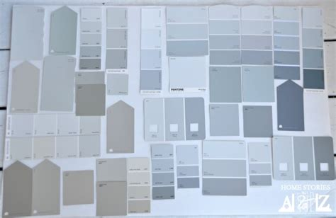 gray paint swatches gray paint color ideas tips and exles home stories