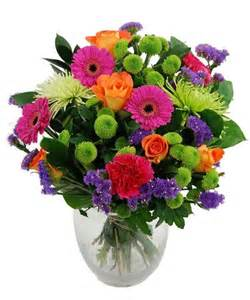 Statice Flowers Send Bright Flowers Bouquet For Delivering To Uk Address Fineflora