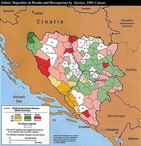 bosnia map nationmaster maps of bosnia and herzegovina 19 in total