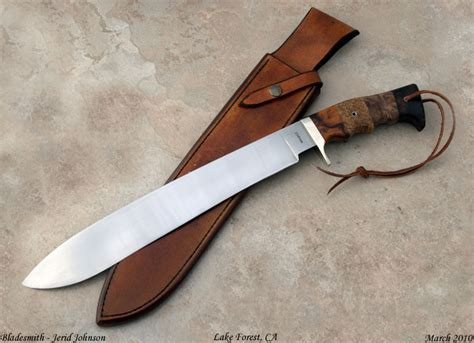 Handcrafted Knife - custom shop jerid johnson custom handmade knives