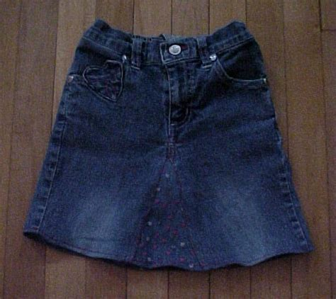 pattern for turning jeans into a skirt 21 cute and clever things to make from old jeans