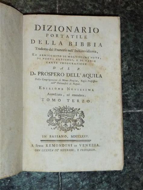 bid traduzione prospero dell aquila dizionario portatile della bibbia