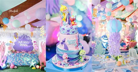 baby shark themed party philippines mommy family blog