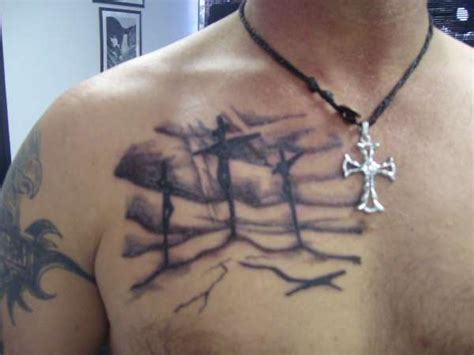three crosses tattoos 3 crosses designs design idea