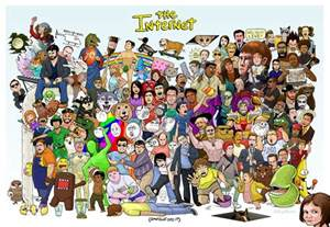 The Internet Memes - a massive collection of internet memes assembled in one poster
