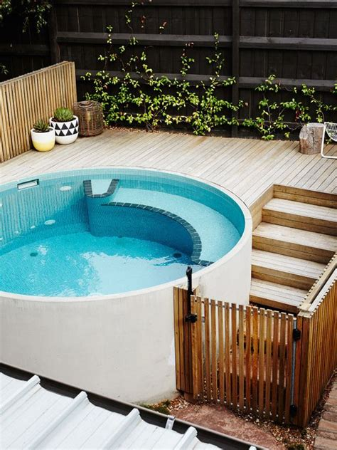 cool plunge swimming pools  outdoors digsdigs