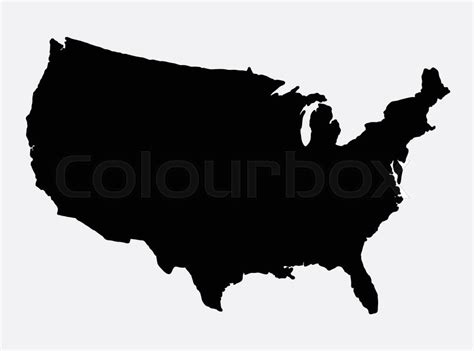 Graphic Design Jobs From Home Usa by The United States Of America Map Island Silhouette Good