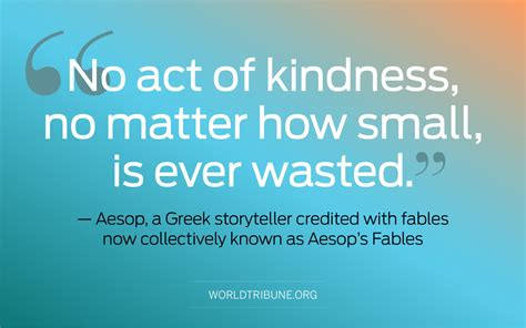 quote of the week quote of the week aesop world tribune