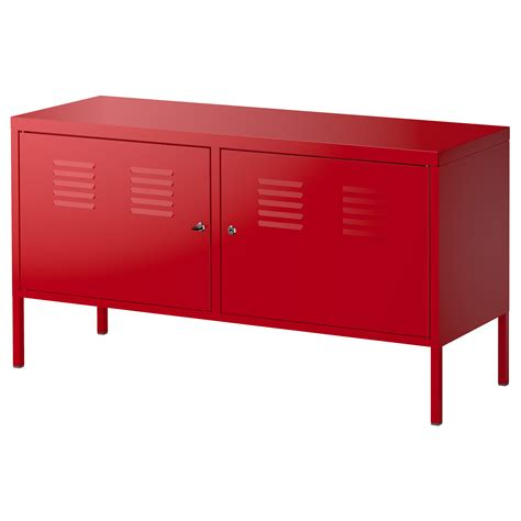 locker storage ikea ikea ps cabinet red 119x63 cm ikea