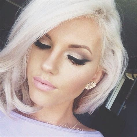 photos of platium and white haircolors and hairstyles forget about gray these looks will make you want to dye