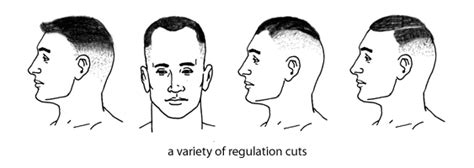 ar 670 1 haircuts men military haircut regulations for men www
