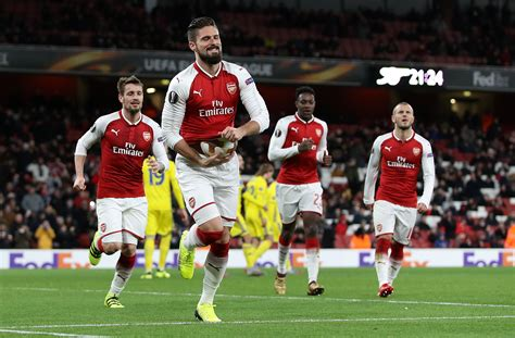 arsenal europa league 2017 arsenal vs bate borisov 5 things we learned from