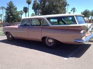 1959 Chevrolet Brookwood 1959 Chevrolet Brookwood Wagon 4 Door And Restored