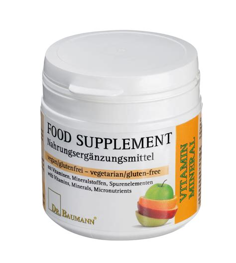 food or supplements dr baumann south africa