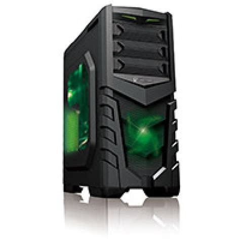Fan Cfd Series 12cm Green Led cit vanquish gaming usb3 toolless side window 2 x 12cm blue led fans retail