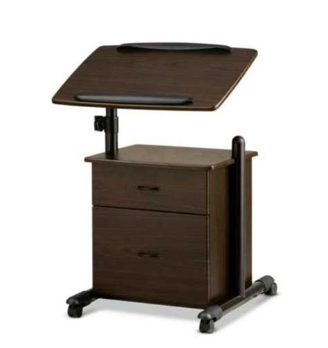Portable Rolling Laptop Cart Laptop Desk Home Furniture Laptop Desk Cart