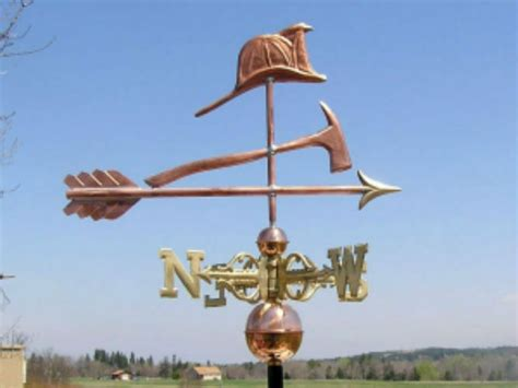 Weathervanes And Cupolas Usa by Copper Quot Fireman Quot Weathervane Made In Usa 317s Ebay