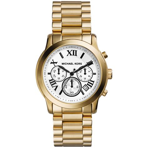 Michael Kors Chronograph michael kors s chronograph cooper gold tone stainless steel bracelet 39mm mk5916 in