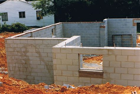 building a concrete block house masonry wikidwelling