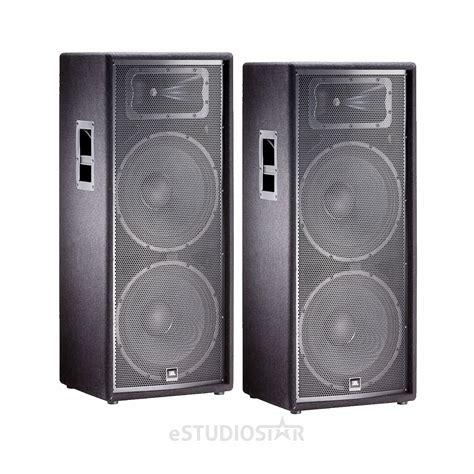 Speaker Jbl Jrx 225 Pair 2 Jbl Jrx225 15 Two Way Speakers Jrx 225