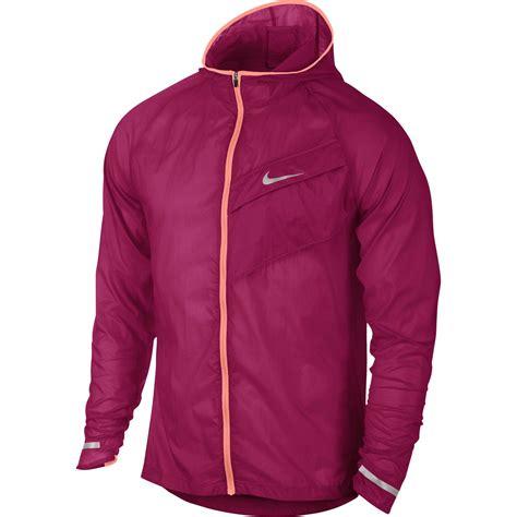 nike light running jacket nike mens impossibly light running jacket fuchsia