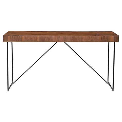 Rustic Modern Desk Hugh Rustic Modern Reclaimed Wood Iron Desk Kathy Kuo Home