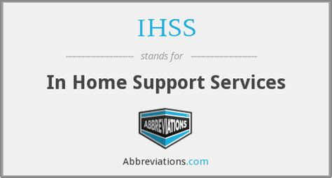 ihss in home support services