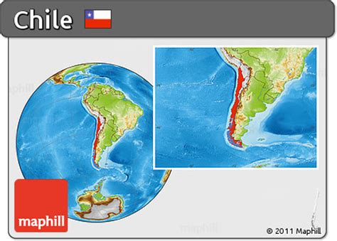 chile location on world map free physical location map of chile